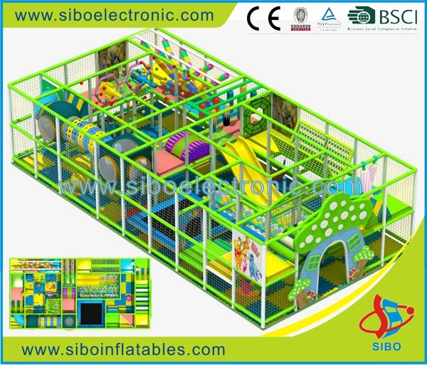 GM20130805 children indoor playhouse used playground equipment indor playgrounds for sale