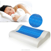 Memory Foam + Liquid Gel Pillow with Removable Velour Cover