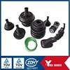 China cutom molded rubber product/EPDM rubber bellow/stretch dust proof industry used rubber hose
