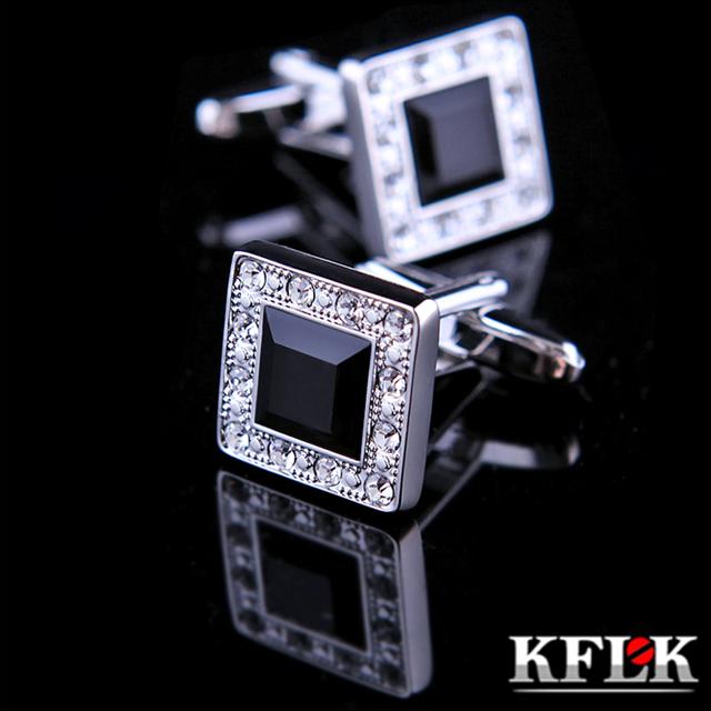 Kflk ювелирные изделия модные запонки для рубашки мужчин брендовые