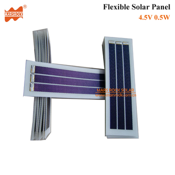 Portable 4.5V 0.5W Flexible Solar Panel Light, Waterproof,High efficiency