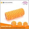 high quality colorful EVA hollow foam roller for yoga exercise