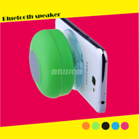 2015 portable water proof bluetooth speaker with suction bottom