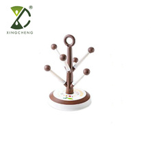 Stable Creative Candy Tree Decorative Coffee Mug Holder Cup Drying Rack