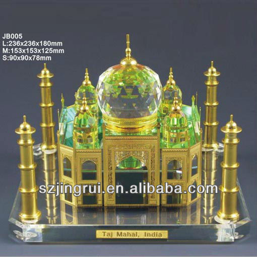 Taj Mahal crystal model