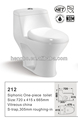CUPC WATERSENSE HET one-piece toilet s-trap 300MM