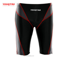 wholesale colorful polyester fabric boxer shorts/hot sale swimming shorts/leackong mesh swimming trunk