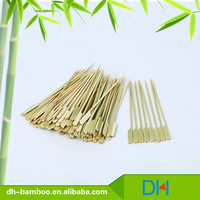 Bamboo Flat Barbecue Sticks BBQ Skewer Tools