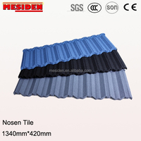 New Design Colorful Stone Coated Metal Roofing Tile with Good Price