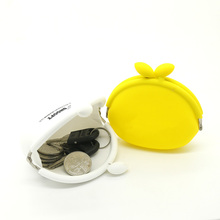 High Quality Promotional Custom Logo Printed Cheap Silicone Jelly Coin Purse