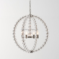 Ceiling Chanderlier Light With Rose Gold