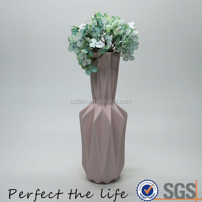 Ceramic Tall Flower Vase