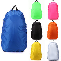 Protable Waterproof Backpack Bag Dust Rain Cover For Travel Camping Hiking Cycling Outdoor Tool Nylon Rain Bag 35-40L