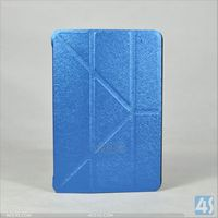 Alibaba express transformer stand Leather Flip Cover Case for iPad Mini retina dispaly case