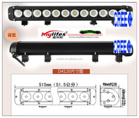 2013 Hot selling 120W light bar for Truck, Off Road, ATV, Vehicle, Minging, Auto Lamp LED