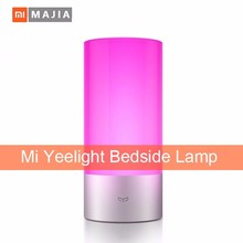 New Original Xiaomi Yeelight Smart Night Lights Indoor Bed Bedside Lamp 16 Million RGB Lights Touch Control