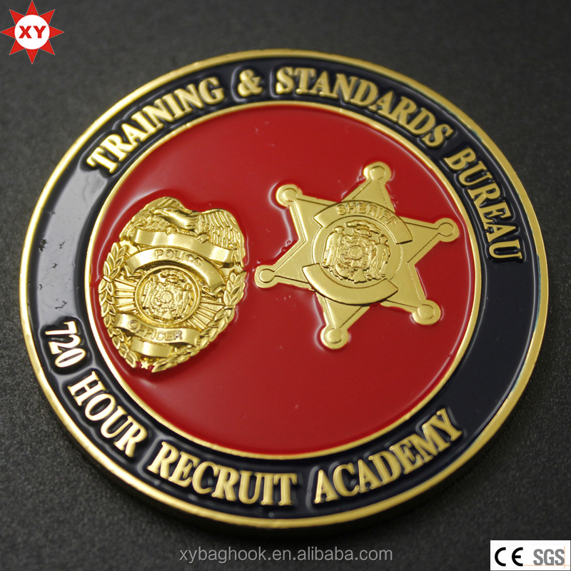 New Products Metal Coin Maker with 3d Metal Emblem Logo