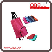 Nylon Foldable Trolley shopping bag