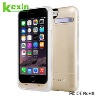 Rechargeable li-polymer battery case for iphone 6 Wireless Power Bank Charger
