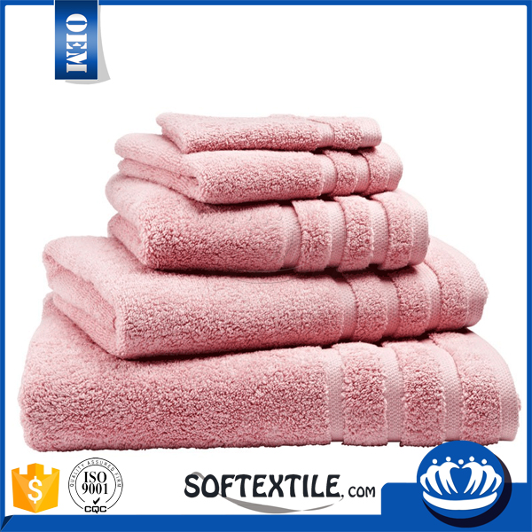 100% COTTON BEST SOFT CUSTOM decorative bath towel sets