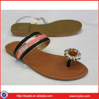 High Quality Wholesale Ladies Sandals PU Sole