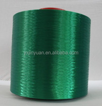 dyed color hot melting polyester yarn