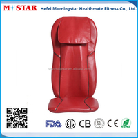 Luxury neck and back kneading massage cushion for chair
