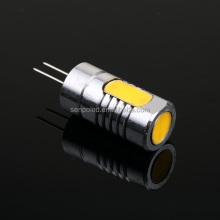 factory price 3pcs 1w 1.5w Aluminium DC12v 120-140lm 280 degree cob G4 led