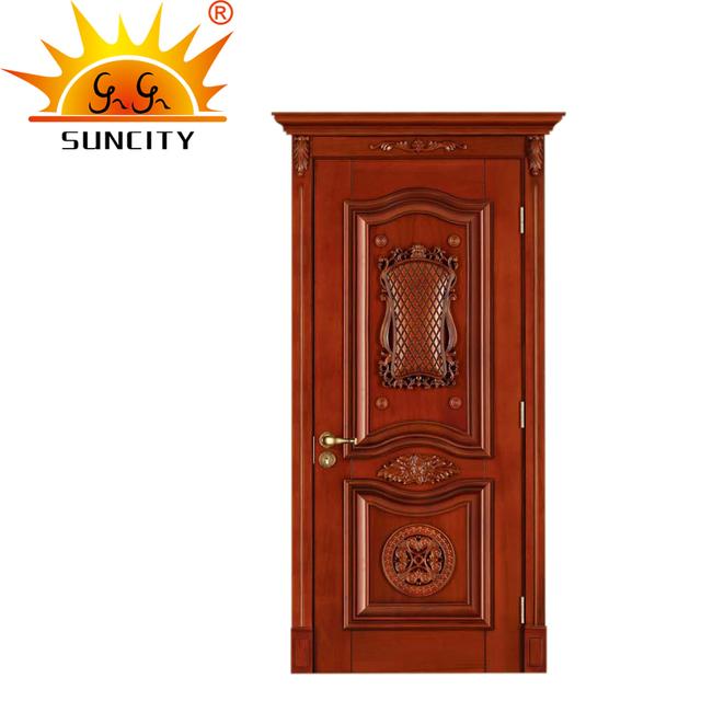 Luxury Best Wooden Single Panel Door Design Pictures