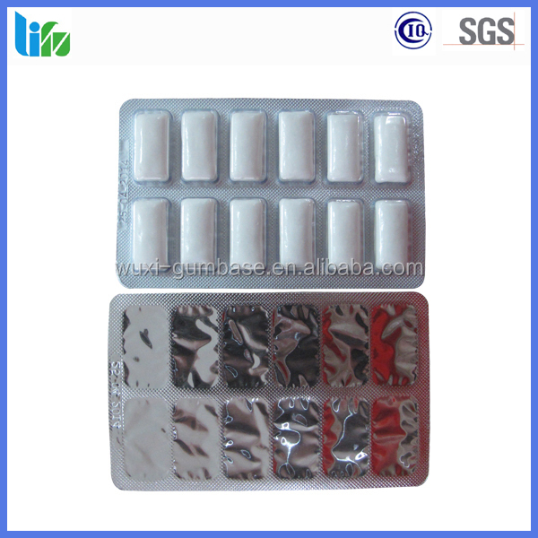 Private label candy manufacturer,chewing gum blister