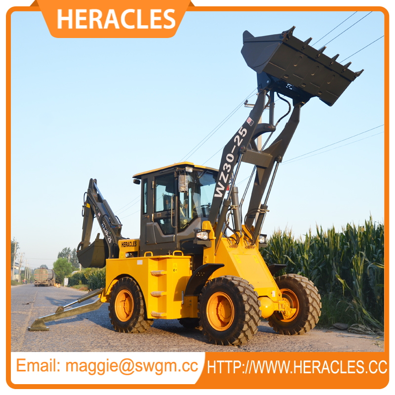 lawn tractor wzy30-25 backhoe loader for sale
