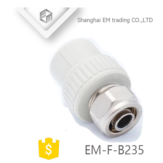 EM-F-B235 Plastic compression union pipe fitting