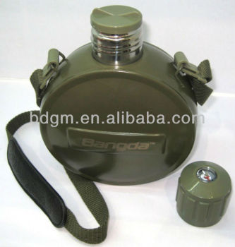 800ml stainless steel vacuum insulated military flask and kettle