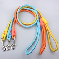 Fashion Pet Accessories Durable Colorful Nylon Custom Logo innovative leads for dogs