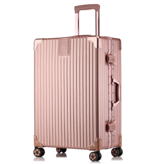 Top Quality Metal Frame Spinner Luggage In 2018