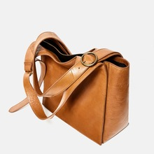 Europe Styled Lady luxury lady's hand bag women genuine leather large hobo bag for wholesale