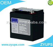 GEL Deep Cycle Battery 12v 28AH Lead Acid Battery For UPS/Solar
