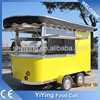 Steet vending machine food cart/trailer/van/kiosk mobile camping kitchen