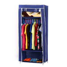 Factory wholesale foldable wardrobe cheap folding clothes closet