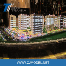 Customized commercial architectural building scale model / 3D architecture building model