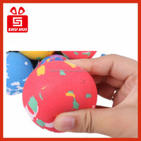 2015 Unique High Density EVA Foam Rubber Bouncing Ball for size diameter 45mm 60mm 90mm