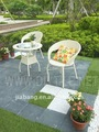 Artificial interlocking grass tile with PE base--G001