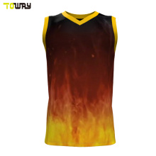 oem cheap reversible sample basketball jersey design
