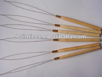 hair extension loop pulling needle/beading tools supplier/needle threader