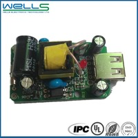 One top FR4 electronics multilayer power board pcba