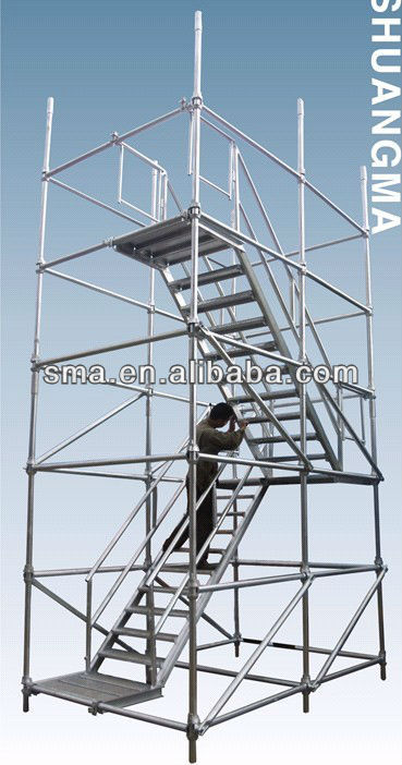 Q235 material galvanized cuplock Scaffolding system from guangzhou