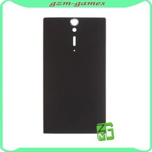 Original New Cell Phone Black Color Housing Battery Cover Back Door Replacement For Sony Xperia S LT26I