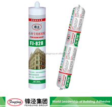 Grey silicone sealant for stone