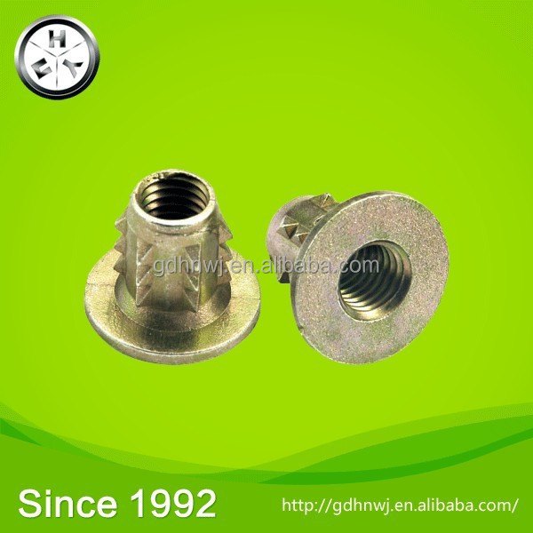 China supplier furniture bolt connector M8 joint connector nut