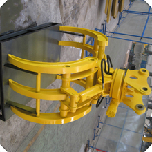 Excavator Hydraulic Clamp Rotating Grapples Log Grapple